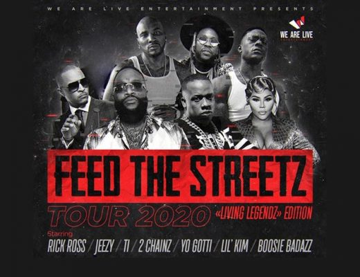 'FEED THE STREETZ' TOUR ANNOUNCED BY BOOSIE, LIL' KIM, YO GOTTI, 2 CHAINZ, T.I., JEEZY AND RICK ROSS