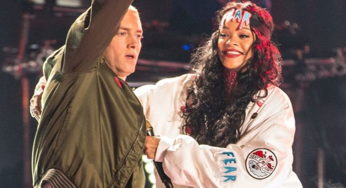 Eminem's Marketing Teases New Eminem And Rihanna Collaboration