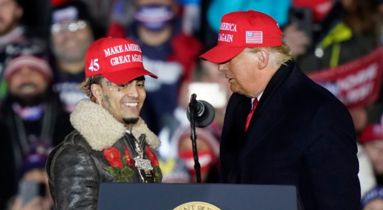 "Donald Trump Introduces Lil Pump As ""Little Pimp"" At MAGA LATEST HIP HOP NEWS AND RUMOURS"
