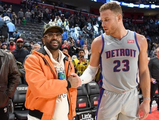 Big Sean As Creative Director Of Innovation For The Detroit Pistons LATEST HIP HOP NEWS AND RUMOURS